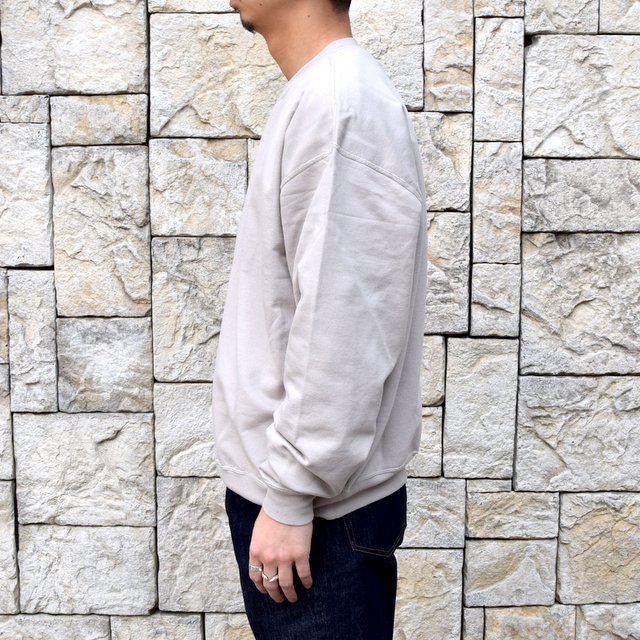 【2020 SS】AURALEE(オーラリー)/ SUPER SOFT SWEAT BIG P/O -GRAY- #A20SP02GU(3)