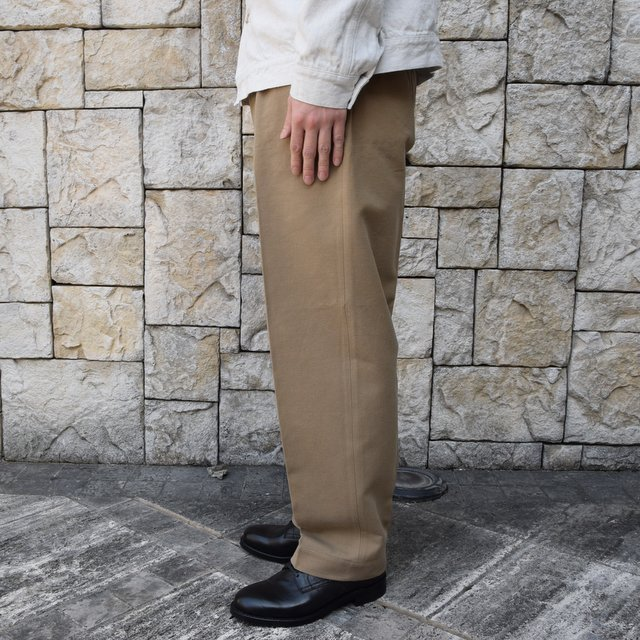 【2020 SS】KAPTAIN SUNSHINE / Wide Chino Trousers KS20SPT07(3)