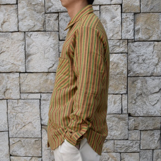 【2020 SS】FRANK LEDER(フランクリーダー) / COTTON SHIRT -YELLOW- #0836008(3)