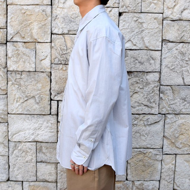 【2020】MAATEE&SONS(マーティーアンドサンズ)/REGULAR COLLAR SHIRT -GRAY- #MT0103-0601A(3)