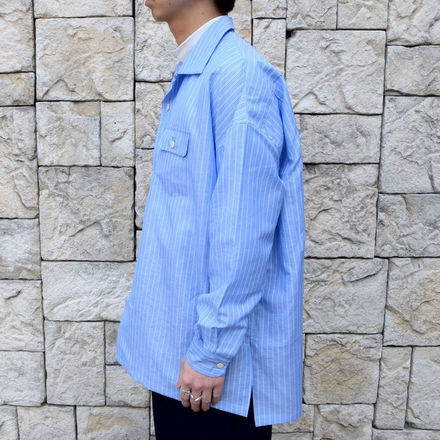 【30% off sale】【2020】MAATEE&SONS(マーティーアンドサンズ)/ ''DAVID&JOHN ANERSON'' OPEN COLLAR SHIRT -2色展開- #MT0103-0607A(3)
