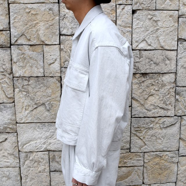 【2020 SS】YOKE(ヨーク)/ WIDE DENIM BLOUSON -2色展開- #YK20SS0104B(3)
