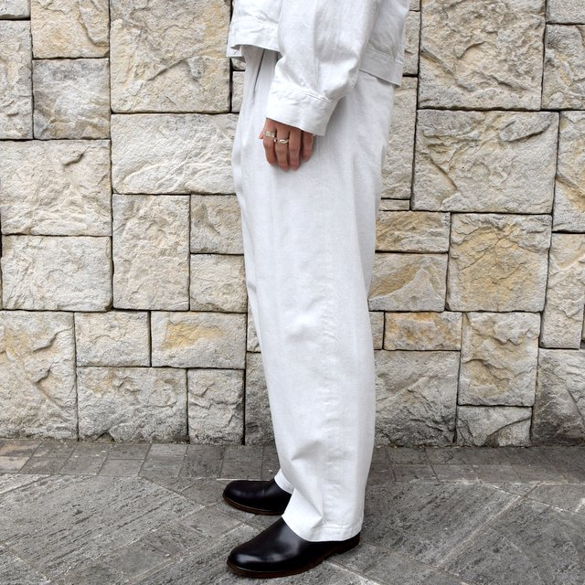 【2020 SS】YOKE(ヨーク)/ 2TUCK WIDE TROUSERS -2色展開- #YK20SS0105P(3)