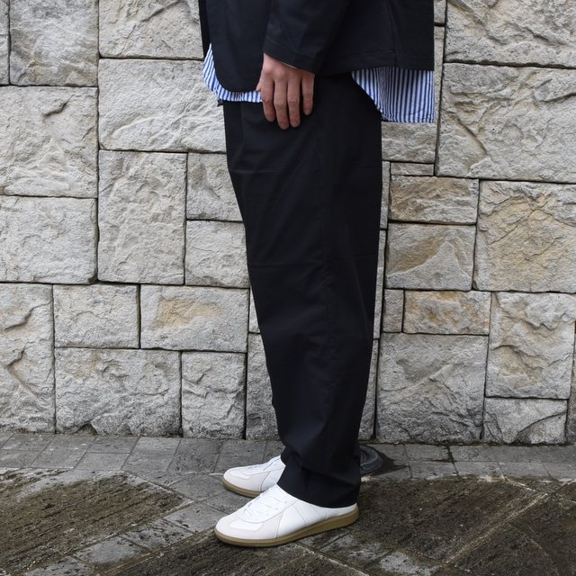 【2020 SS】 A VONTADE(ア ボンタージ)/ COMFORT WIDE EASY TROUSERS -BLack- #VTD-0423-PT(3)
