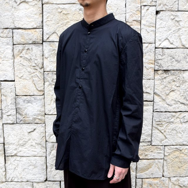 【2020】 toogood(トゥーグッド)/ THE BOTANIST SHIRT POPLIN -FLINT- (3)