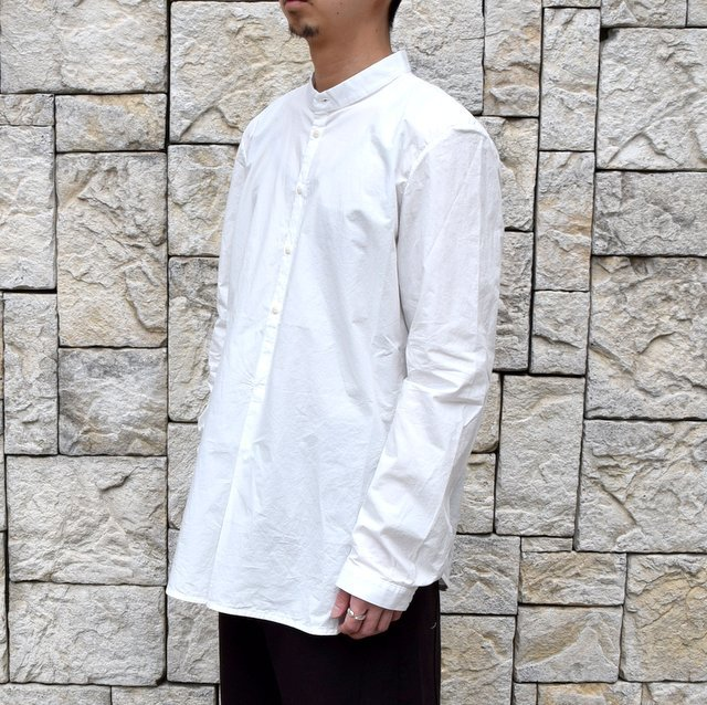 【2020 SS】 toogood(トゥーグッド)/ THE BOTANIST SHIRT POPLIN -CHALK- (3)