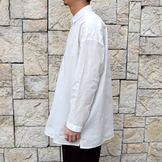 【2020】 toogood(トゥーグッド)/ THE DRAUGHTSMAN SHIRT POPLIN -CHALK- (3)