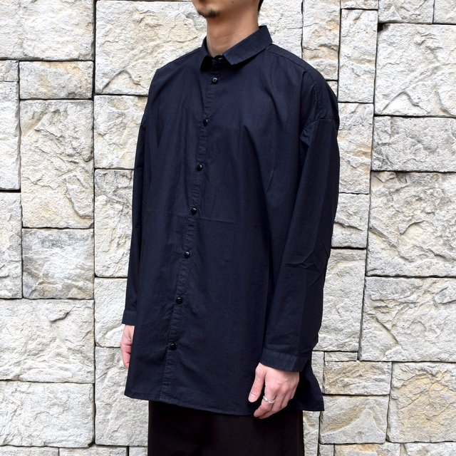 【2020】 toogood(トゥーグッド)/ THE DRAUGHTSMAN SHIRT POPLIN -FLINT- (3)