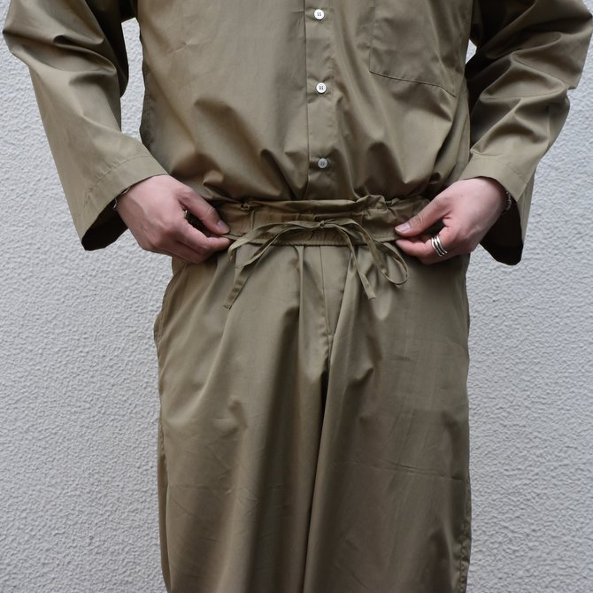 【30% off sale】【2020】 Cristaseya(クリスタセヤ)/LIGHT COTTON MOROCCAN PAJAMA PANTS -Light khaki- #02DA-C(3)