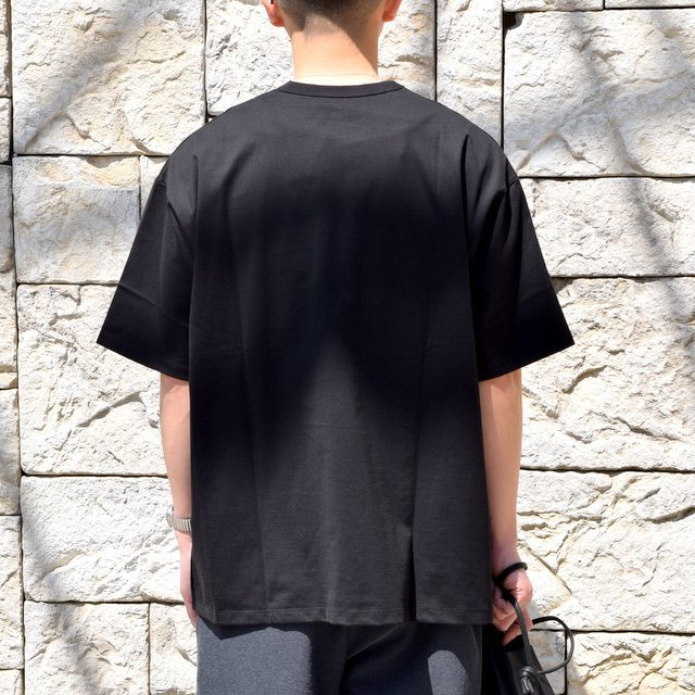 【2020】Graphpaper (グラフペーパー)/ Jersey S/S Tee -BLACK- #GM201-70148B(3)