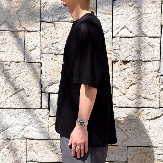 【2020 SS】stein(シュタイン)/ PRINT TEE ''TO COMPLETE'' -BLACK- #ST154(3)