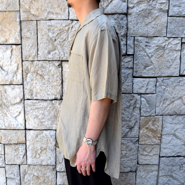 【30% off sale】【2020】KAPTAIN SUNSHINE (キャプテンサンシャイン)/ RIVIERA S/S SHIRT -KHAKI- #KS20SSH04(3)