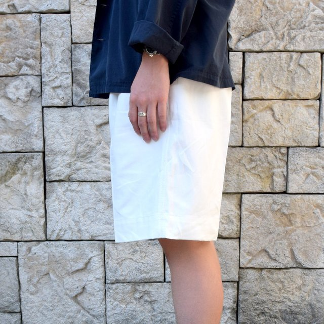 【2020 SS】Dead Stock(デッドストック)/ ITALIAN ARMY GURKHA SHORTS -WHITE-(3)