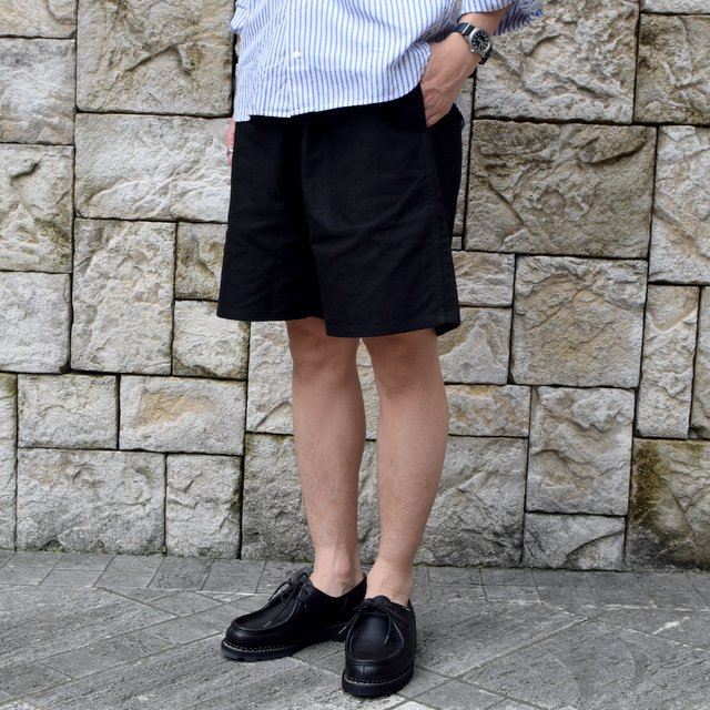 【2020】YAECA (ヤエカ)/ CLIMBING SHORTS -BLACK- #10602BLK(3)