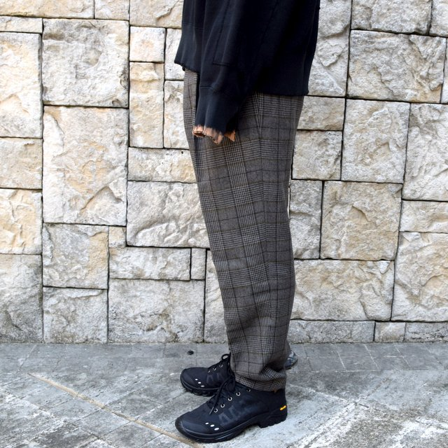 【2020】stein(シュタイン)/ WIDE TAPERED TROUSERS -GLEN CHECK- #ST178-2(3)