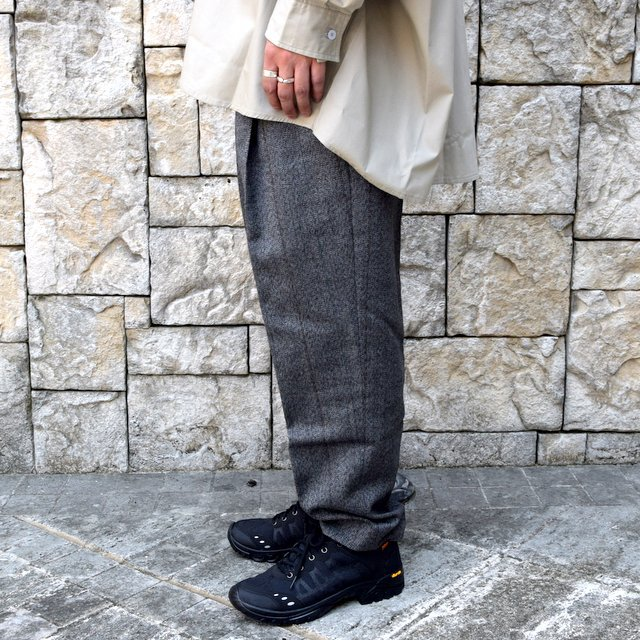 【2020】stein(シュタイン)/ WIDE TAPERED TROUSERS -HERRINGBONE- #ST178-2(3)