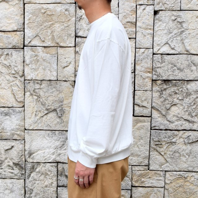 【2020】blurhms ROOTSTOCK(ブラームス) / SILK COTTON JERSEY L/S LOOSE FIT -OFF- #ROOTS-F206(3)