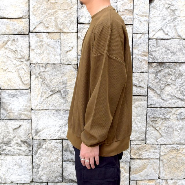blurhms ROOTSTOCK(ブラームス) / Rough & Smooth Thermal -KHAKI BROWN-(3)