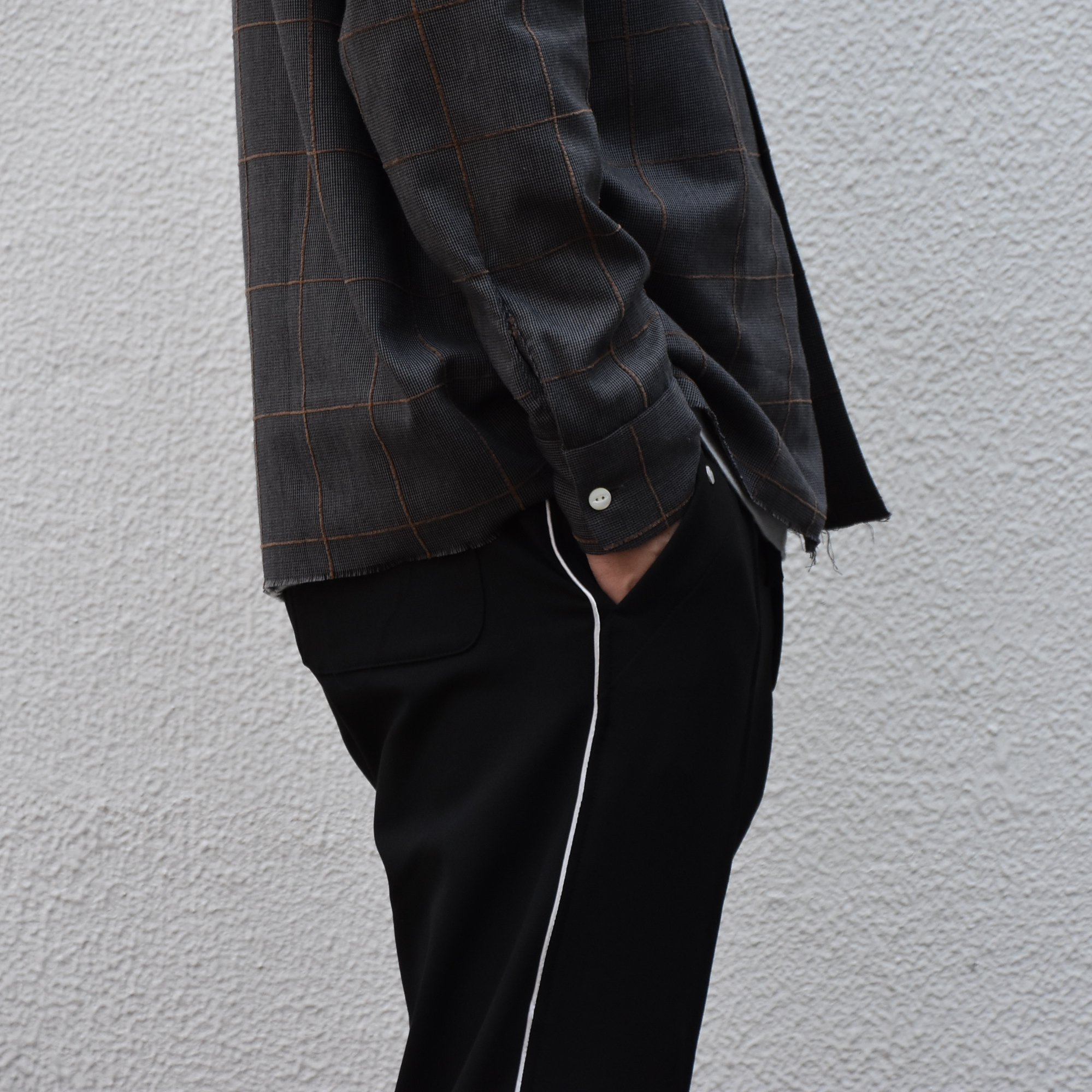 【2020】NEEDLES(ニードルス) Piping cowboy pants -BLACK- #HM-135(3)