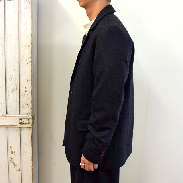 【2020】FRANK LEDER(フランクリーダー)/ LIGHT WEIGHT LODEN WOOL 2B JACKET -BLACK- #0122022(3)