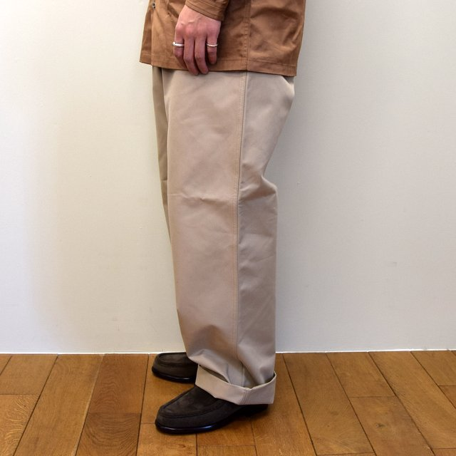 E. TAUTZ(イートウツ)/ FIELD TROUSER-BEIGE-  6311702009-BE(3)