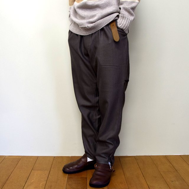 HOMELESS TAILOR(ホームレステイラー)/ HIP GUSSET PANTS -BROWN- #HTK-20F-010(3)