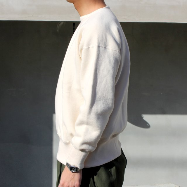 OLDE HOMESTEADER(オールドホームステッダー)/ CREW NECK LONG SLEEVE -ECRU- #EQP001(3)
