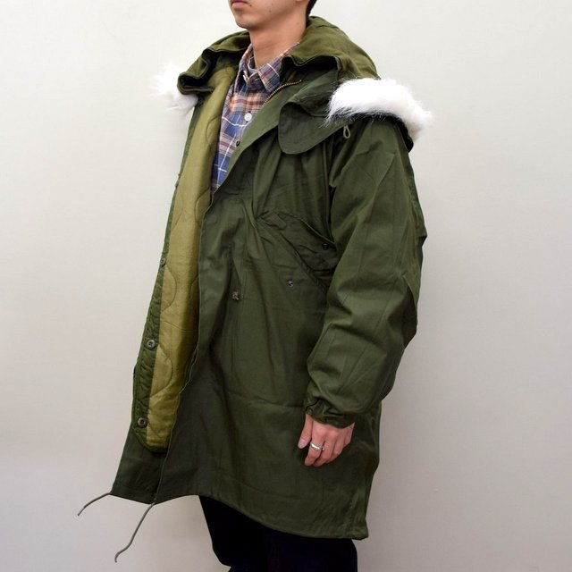 DEAD STOCK(デッドストック)/ US ARMY FISHTAIL PARKA -OLIVE- (3)