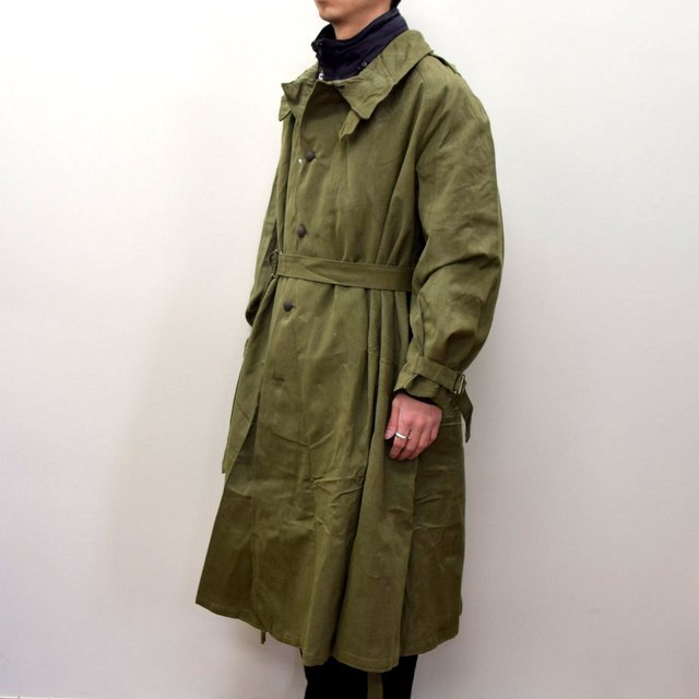 DEAD STOCK(デッドストック)/ FRENCH ARMY MOTORCYCLE COAT -OLIVE- #MILITARY300(3)