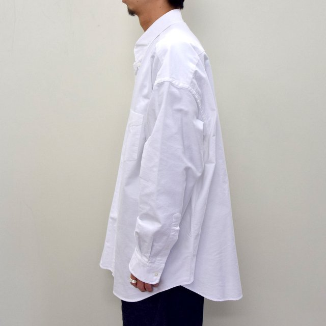 Graphpaper (グラフペーパー)/ OXFORD OVERSIZED B.D SHIRT -2色展開- #GM211-50113B(3)