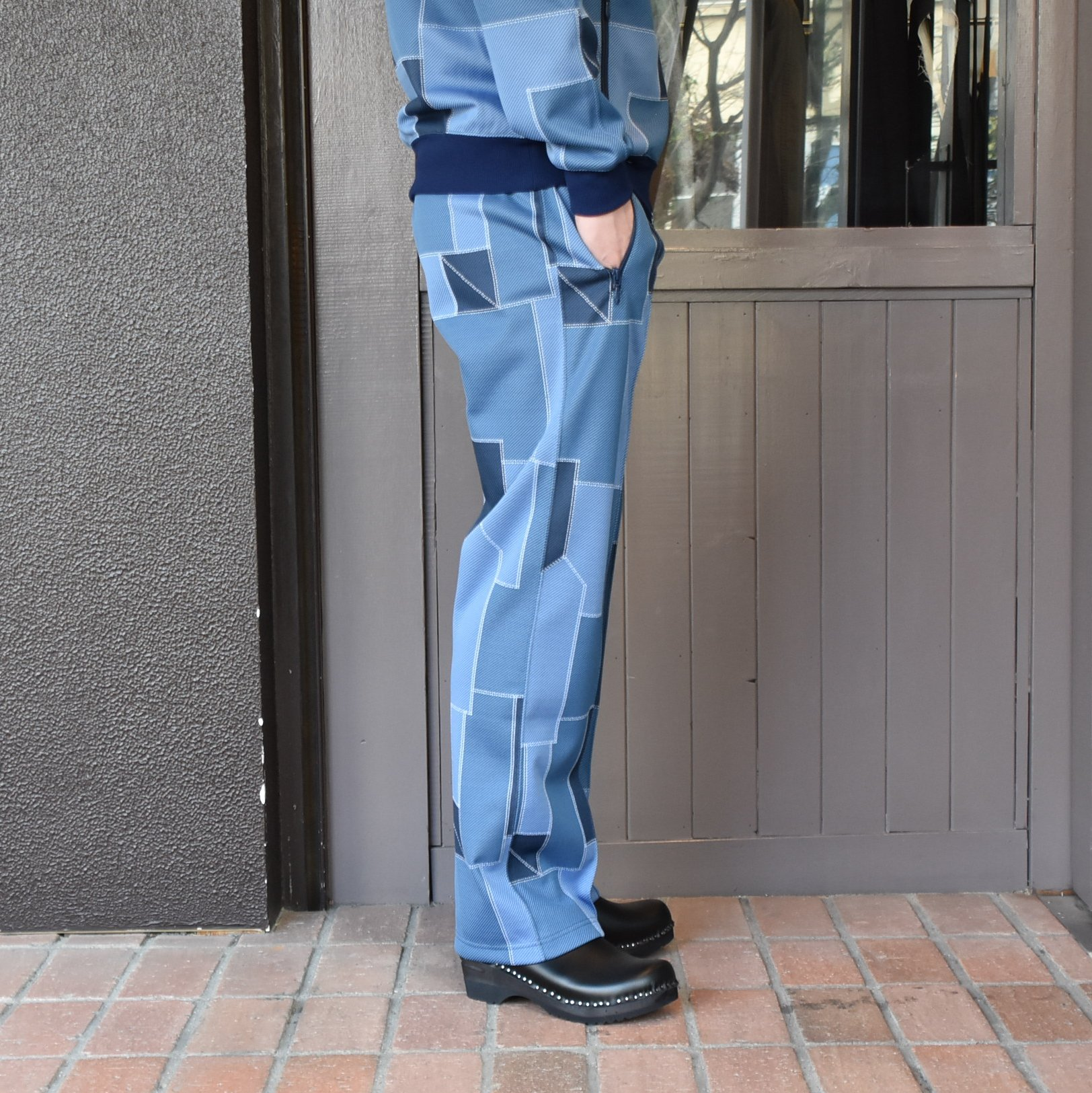 [2021]NEEDLES(ニードルス) TRACK PANT POLY JQ.-PATCHWORK- #IN198(3)