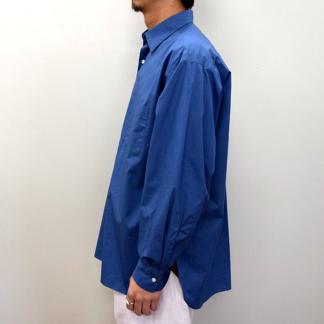 MARKAWARE(マーカウェア)/ COMFORT FIT SHIRT -CYAN BLUE- #A21A-07SH01C(3)