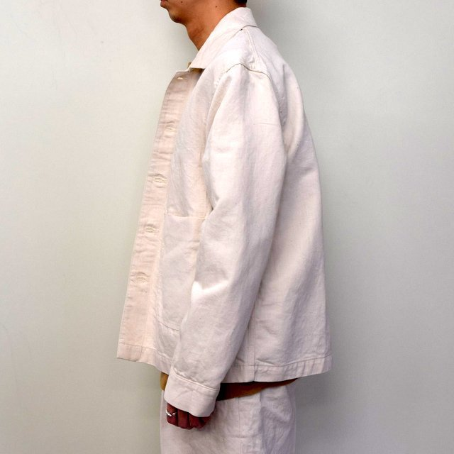 MARKAWARE(マーカウェア)/ WORK JACKET -WHITE- #A21A02BL01C(3)