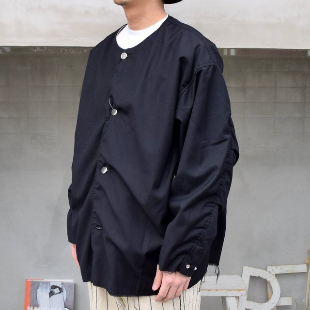 ISSUETHINGS(イシューシングス)/ NO COLLAR JACKET -2Color- #(3)