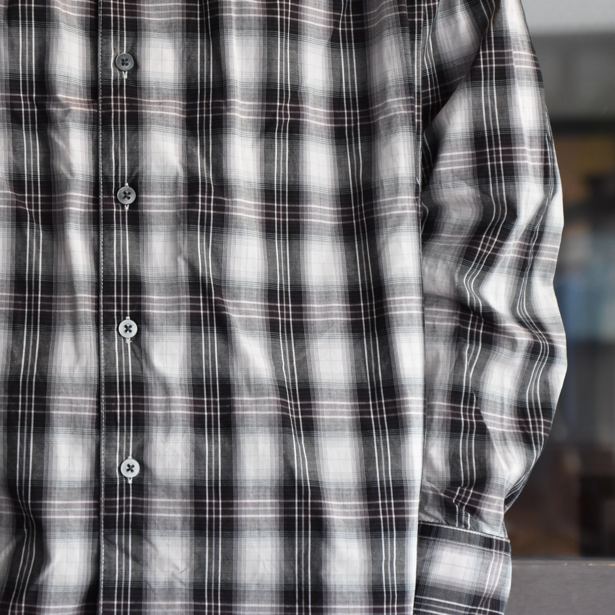 [2021] AiE(エーアイイー)/PAINTER SHIRT-SHADOW PLAID- #IN530(3)