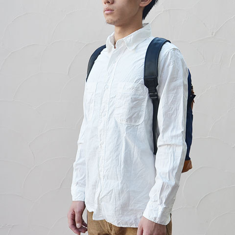 Altadena Works(アルタデナワークス) 801 Daypack(canvas) -Navy Acorn- 【Z】(4)