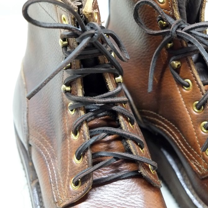 GRIZZLY BOOTS(グリズリー ブーツ) BLACK BEAR -HORWEEN BROWN-(4)