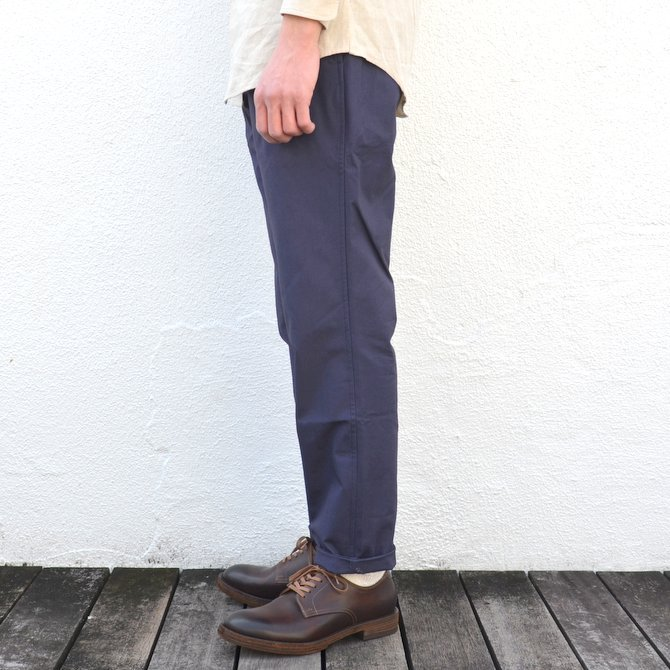 【40% off sale】S.E.H KELLY(エス・イー・エイチ・ケリー)/ NORTHERN IRISH SHOWER-PROOF COTTON STANDARD PANT -(39)NAVY- #5113036(4)