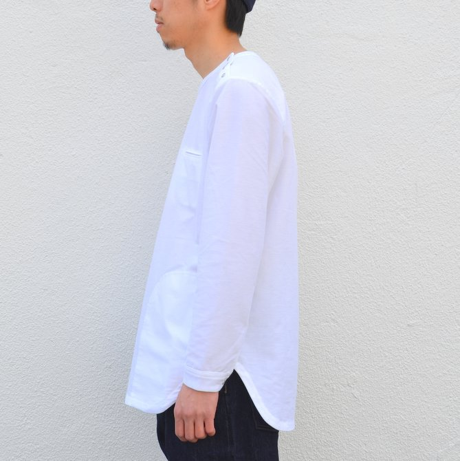 【30% OFF SALE】【17 SS】Curly(カーリー) HIGH GAUGE TWILL JERSEY -WHITE- #171-31032SD(4)