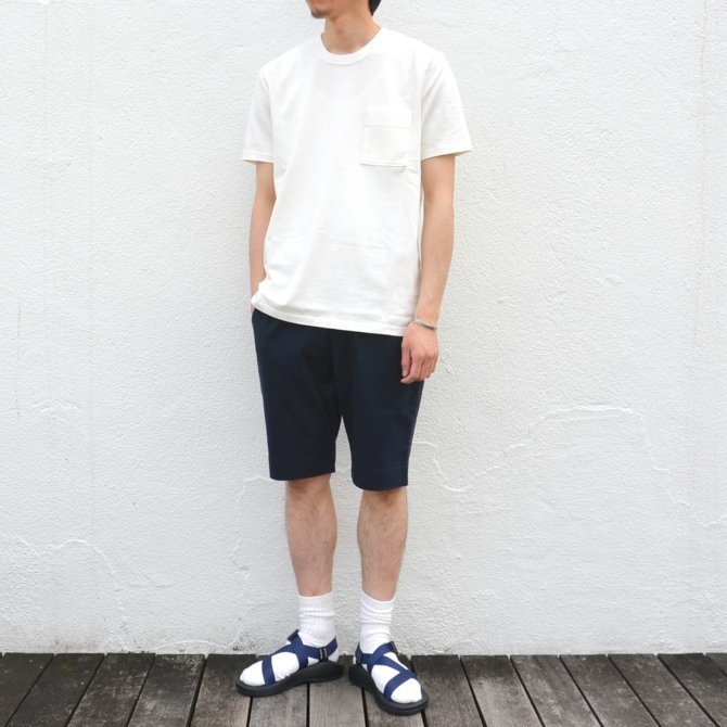 【17 SS】Curly(カーリー) BRIGHT SS POCKET TEE -2色展開- #172-04041(4)