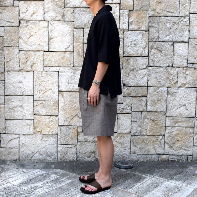 【30% off sale 】KAPTAIN SUNSHINE (キャプテンサンシャイン)/ SKIPPER SHIRT  -BLACK-#KS9SCS09(4)