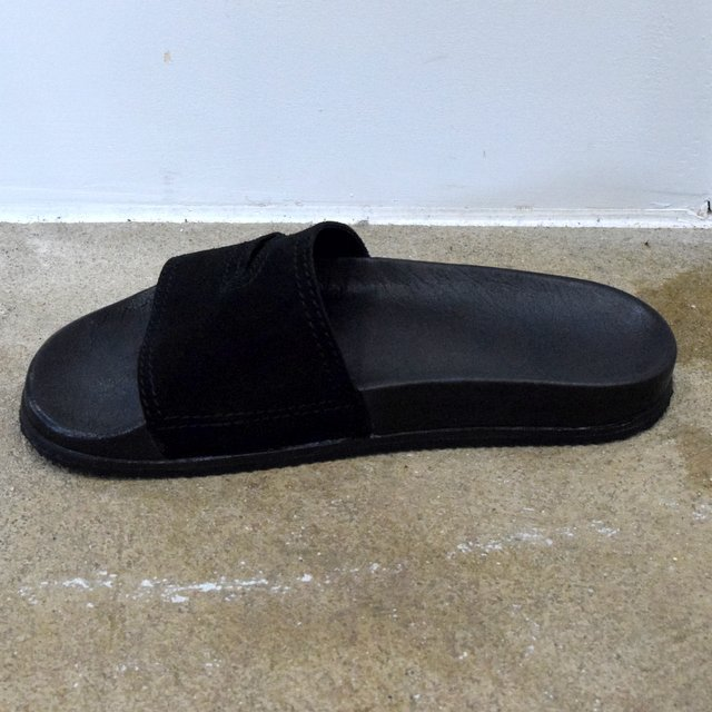 REPRODUCTION OF FOUND(リプロダクション オブ ファウンド)/ GERMAN MILITARY SANDALS -BLACK- #1738L(4)