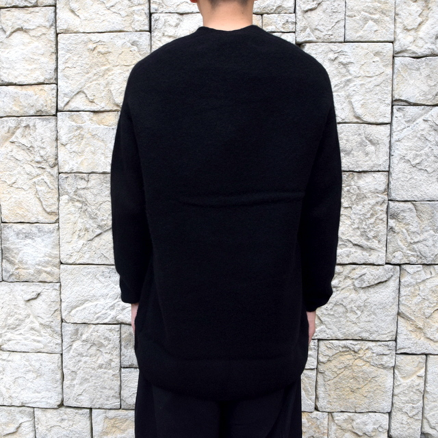 【2019 AW】 too good(トゥーグッド) / THE POET CARDIGAN CASHMERE WOOL KNIT-FLINT- #61101210(4)