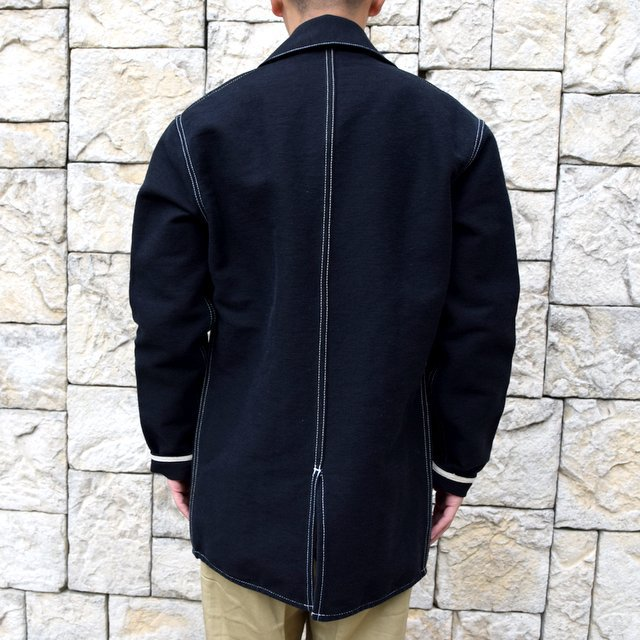 【30% off sale】TENDER Co.(テンダー)Type 962 COOK'S COAT -BLACK- #962(4)