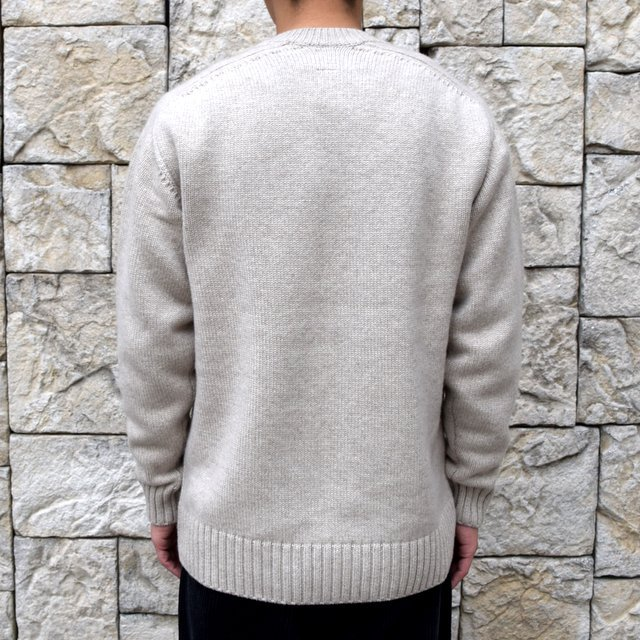 BATONER(バトナ—)/ HEAVY WEIGHT CASHMERE CREW NECK BN-19FL-044(4)