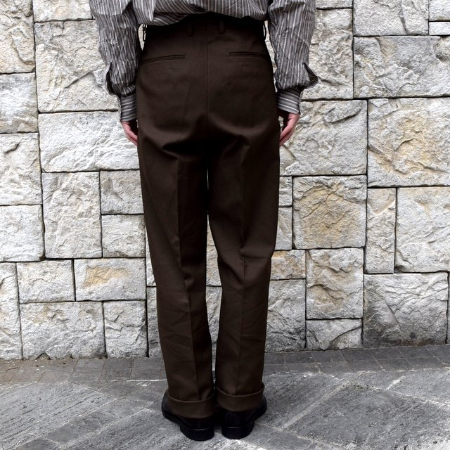 【2020 SS】NEAT(ニート)/ HOPSACK ''WIDE'' -KHAKI- #20-01HSW-KH(4)