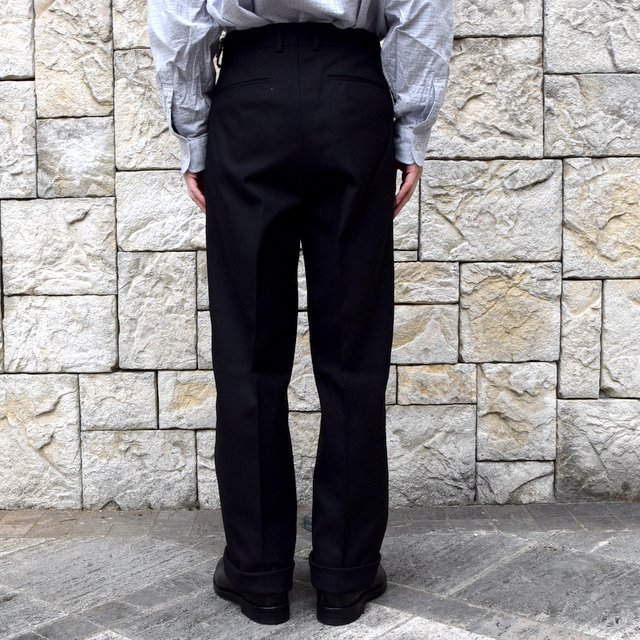 【2020 SS】NEAT(ニート)/ HOPSACK ''WIDE'' -BLACK- #20-01HSW-BK(4)