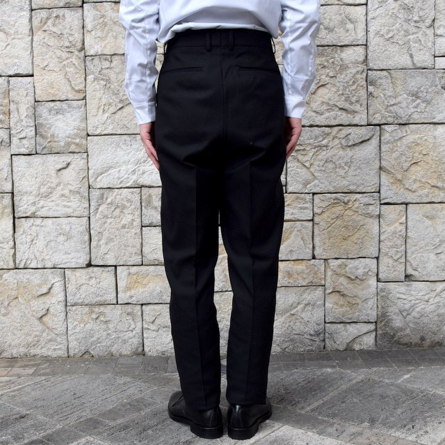 【2020 SS】NEAT(ニート)/ HOPSACK ''TAPERED'' -BLACK- #20-01HST-BK(4)