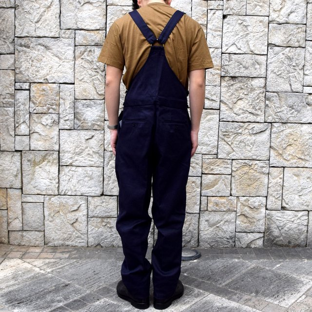 【2020 SS】NEAT(ニート)/ COTTON PIQUE ''OVERALL'' -NAVY- #20-01CPO-NV(4)