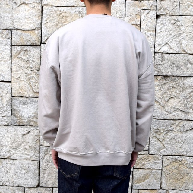 【2020 SS】AURALEE(オーラリー)/ SUPER SOFT SWEAT BIG P/O -GRAY- #A20SP02GU(4)